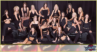 Cleveland Cavaliers cheerleaders